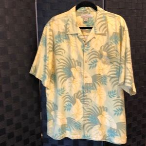 Tommy Bahama Hawaiian Camp Shirt Sz Lg